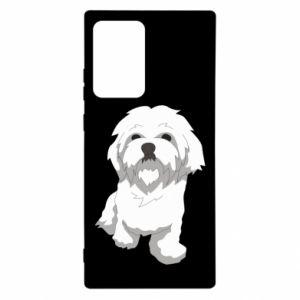 Etui na Samsung Note 20 Ultra Beautiful white dog