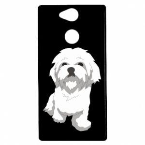 Etui na Sony Xperia XA2 Beautiful white dog