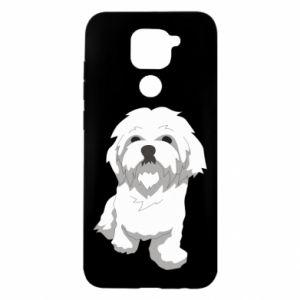 Etui na Xiaomi Redmi Note 9/Redmi 10X Beautiful white dog