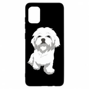 Etui na Samsung A31 Beautiful white dog