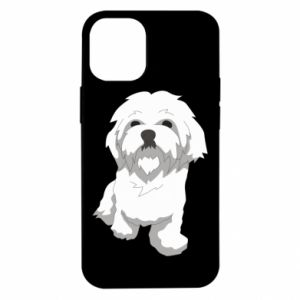 Etui na iPhone 12 Mini Beautiful white dog