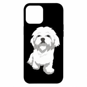 Etui na iPhone 12 Pro Max Beautiful white dog