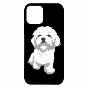 Etui na iPhone 12/12 Pro Beautiful white dog