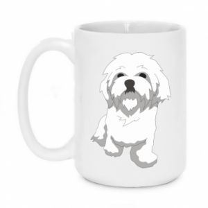 Mug 450ml Beautiful white dog