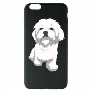 Phone case for iPhone 6 Plus/6S Plus Beautiful white dog