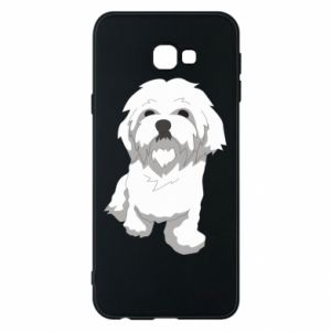 Phone case for Samsung J4 Plus 2018 Beautiful white dog