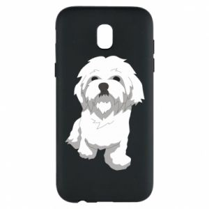 Phone case for Samsung J5 2017 Beautiful white dog
