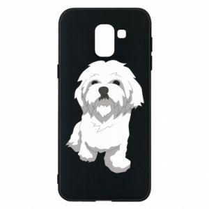 Etui na Samsung J6 Beautiful white dog