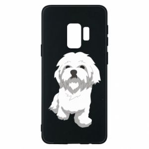 Phone case for Samsung S9 Beautiful white dog