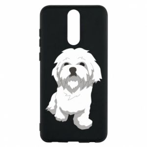 Phone case for Huawei Mate 10 Lite Beautiful white dog