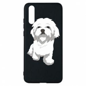 Etui na Huawei P20 Beautiful white dog