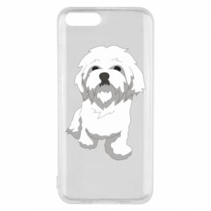 Phone case for Xiaomi Mi6 Beautiful white dog