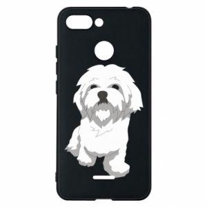 Etui na Xiaomi Redmi 6 Beautiful white dog