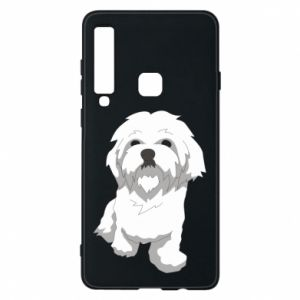 Phone case for Samsung A9 2018 Beautiful white dog