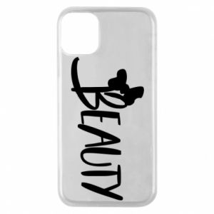 Phone case for iPhone 11 Pro Beauty - PrintSalon