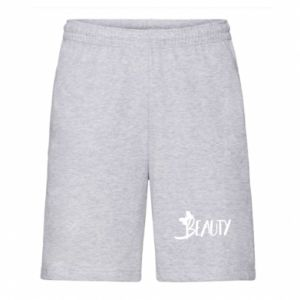 Men's shorts Beauty - PrintSalon