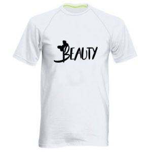 Men's sports t-shirt Beauty - PrintSalon