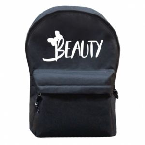 Backpack with front pocket Beauty - PrintSalon