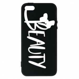 Phone case for iPhone 5/5S/SE Beauty - PrintSalon