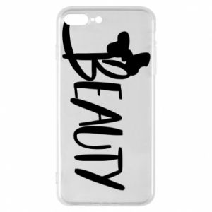 Phone case for iPhone 7 Plus Beauty - PrintSalon