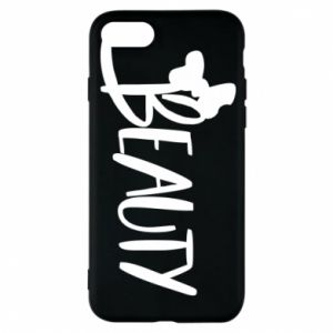 Phone case for iPhone 8 Beauty - PrintSalon