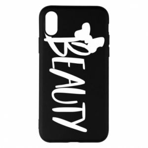 Phone case for iPhone X/Xs Beauty - PrintSalon