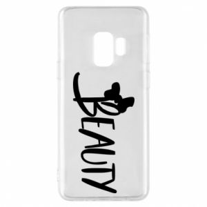 Phone case for Samsung S9 Beauty - PrintSalon