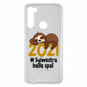 Xiaomi Redmi Note 8 Case I'll sleep