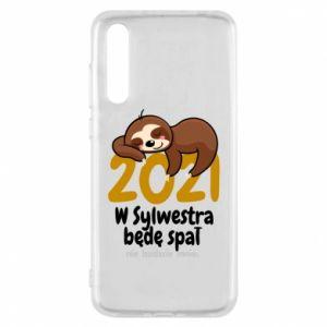Etui na Huawei P20 Pro Będę spał