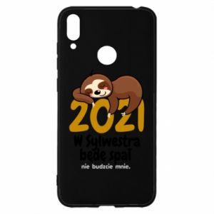 Etui na Huawei Y7 2019 Będę spał