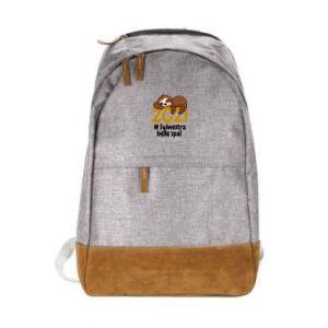 Urban backpack I'll sleep