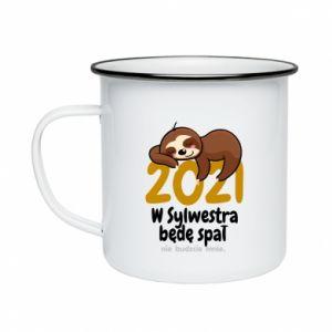 Enameled mug I'll sleep
