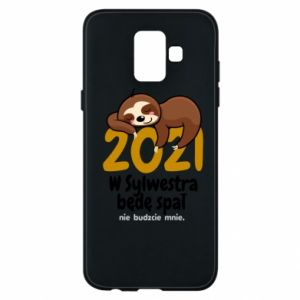 Phone case for Samsung A6 2018 I'll sleep
