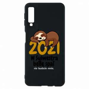 Phone case for Samsung A7 2018 I'll sleep