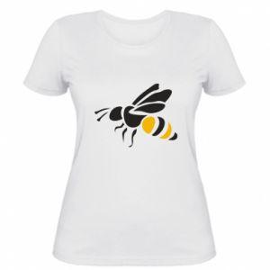 Women's t-shirt Bee in flight - PrintSalon