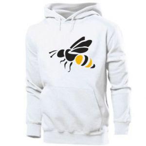 Men's hoodie Bee in flight