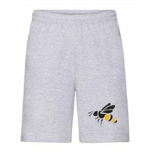 Men's shorts Bee in flight - PrintSalon