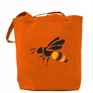 Bag Bee in flight - PrintSalon