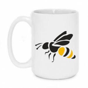 Mug 450ml Bee in flight - PrintSalon