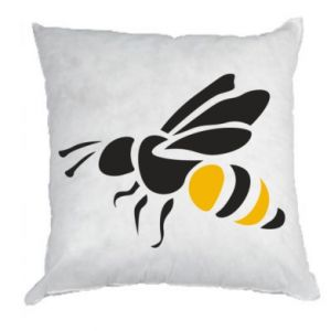 Poduszka Bee in flight