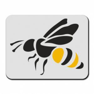 Mouse pad Bee in flight - PrintSalon