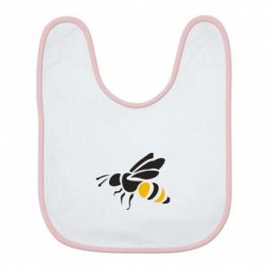 Bib Bee in flight - PrintSalon