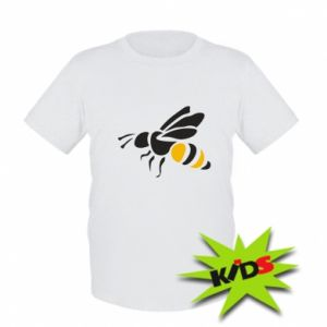 Kids T-shirt Bee in flight