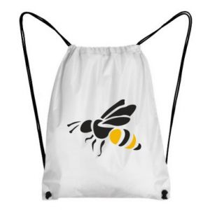 Backpack-bag Bee in flight - PrintSalon