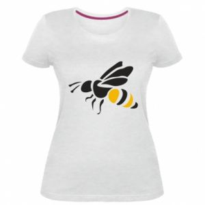 Damska premium koszulka Bee in flight