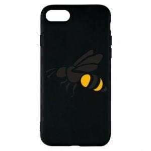 Phone case for iPhone 8 Bee in flight - PrintSalon