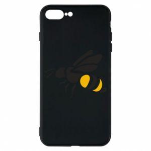 Phone case for iPhone 8 Plus Bee in flight - PrintSalon