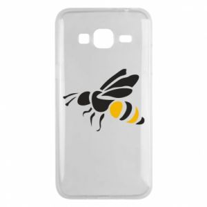 Etui na Samsung J3 2016 Bee in flight