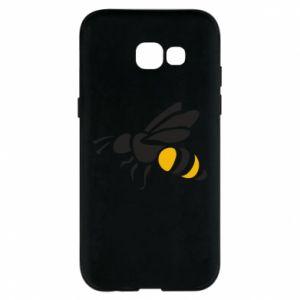 Phone case for Samsung A5 2017 Bee in flight - PrintSalon