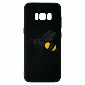 Phone case for Samsung S8 Bee in flight - PrintSalon